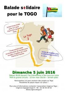 Balade solidaire Urgence Togo 2